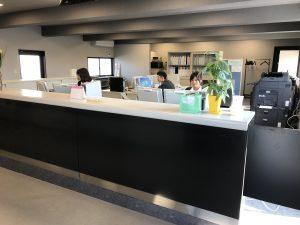 リサイクルセンターの事務所