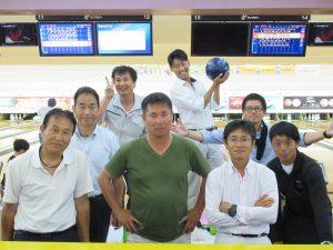 岡山南商工会様主催「親善ボーリング大会」参加