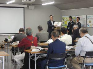 岡山県飲食業組合様リサイクルセンターご見学