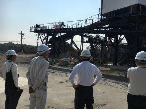 積和建設中国株式会社さま 処分場内視察
