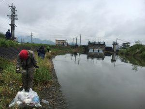 リサイクルセンター周辺の清掃活動