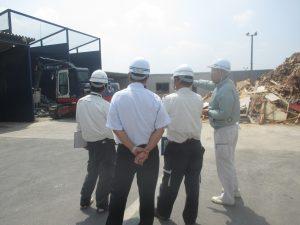 積和建設中国株式会社さま リサイクルセンター見学