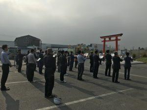 5月度藤神社月次祭