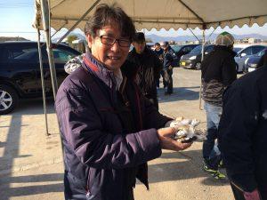 3月度リサイクルセンター周辺清掃 焼き芋慰労会?