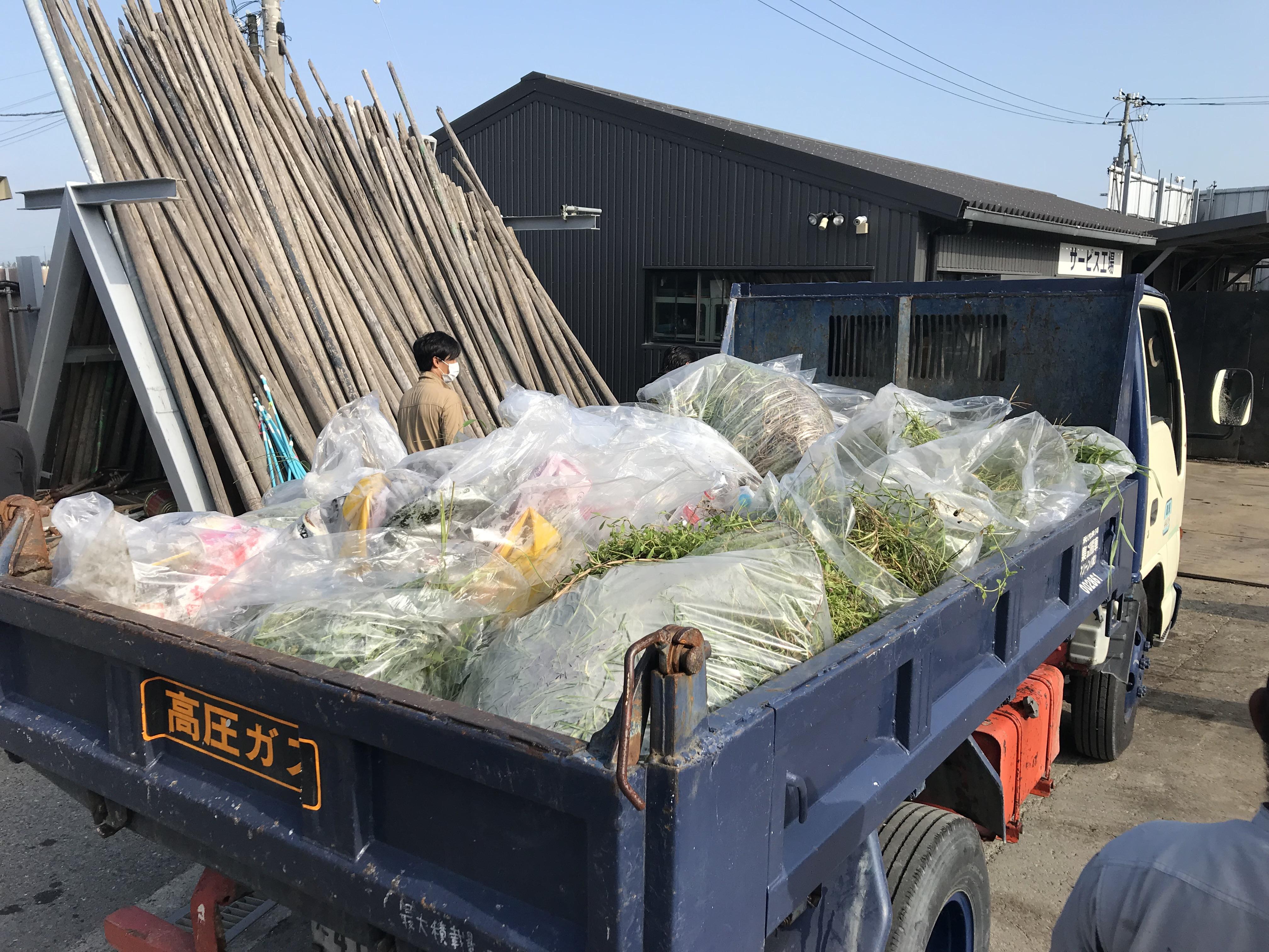 8月度リサイクルセンター周辺清掃