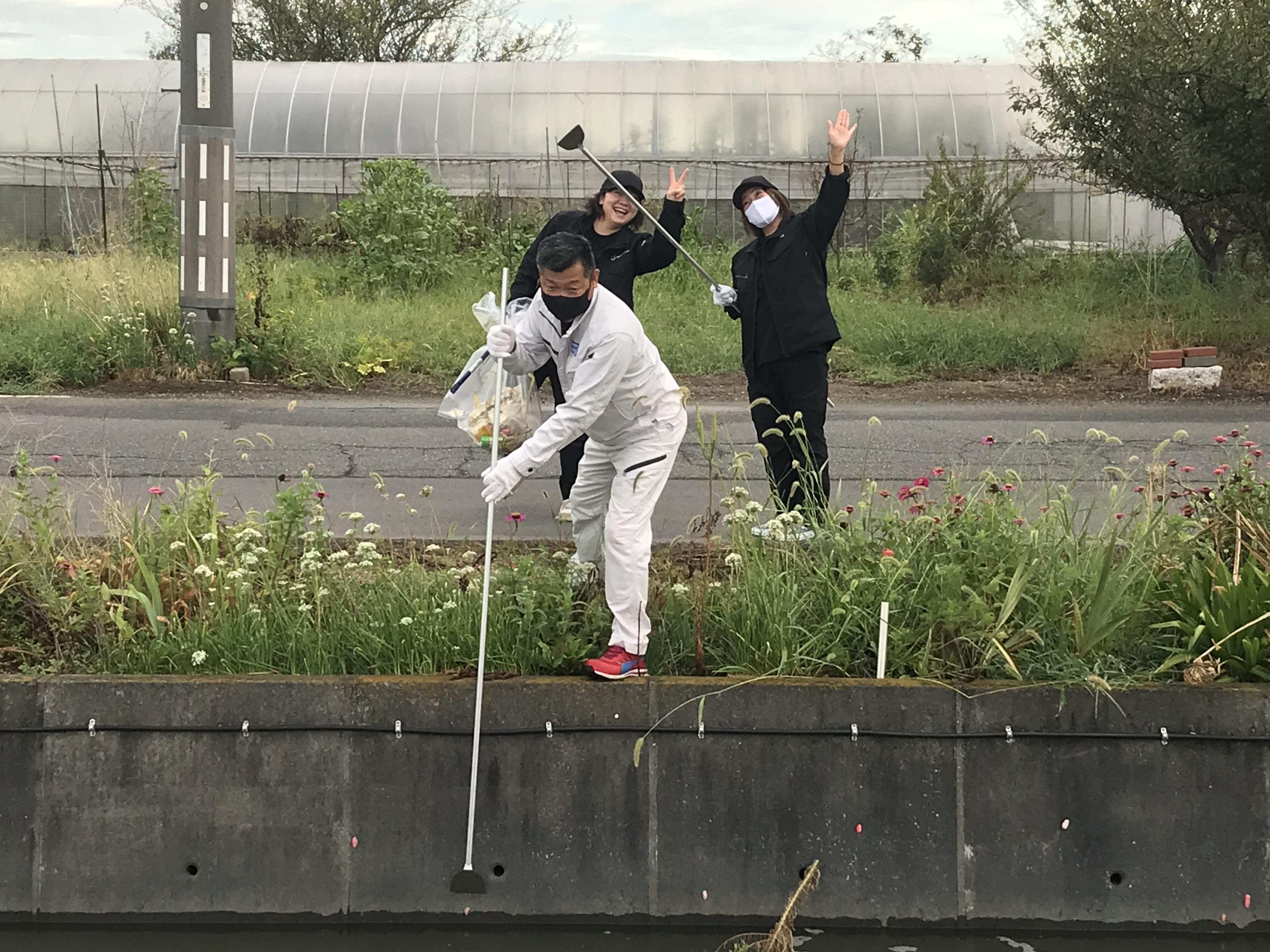 藤田都六区町内会クリーン作戦参加