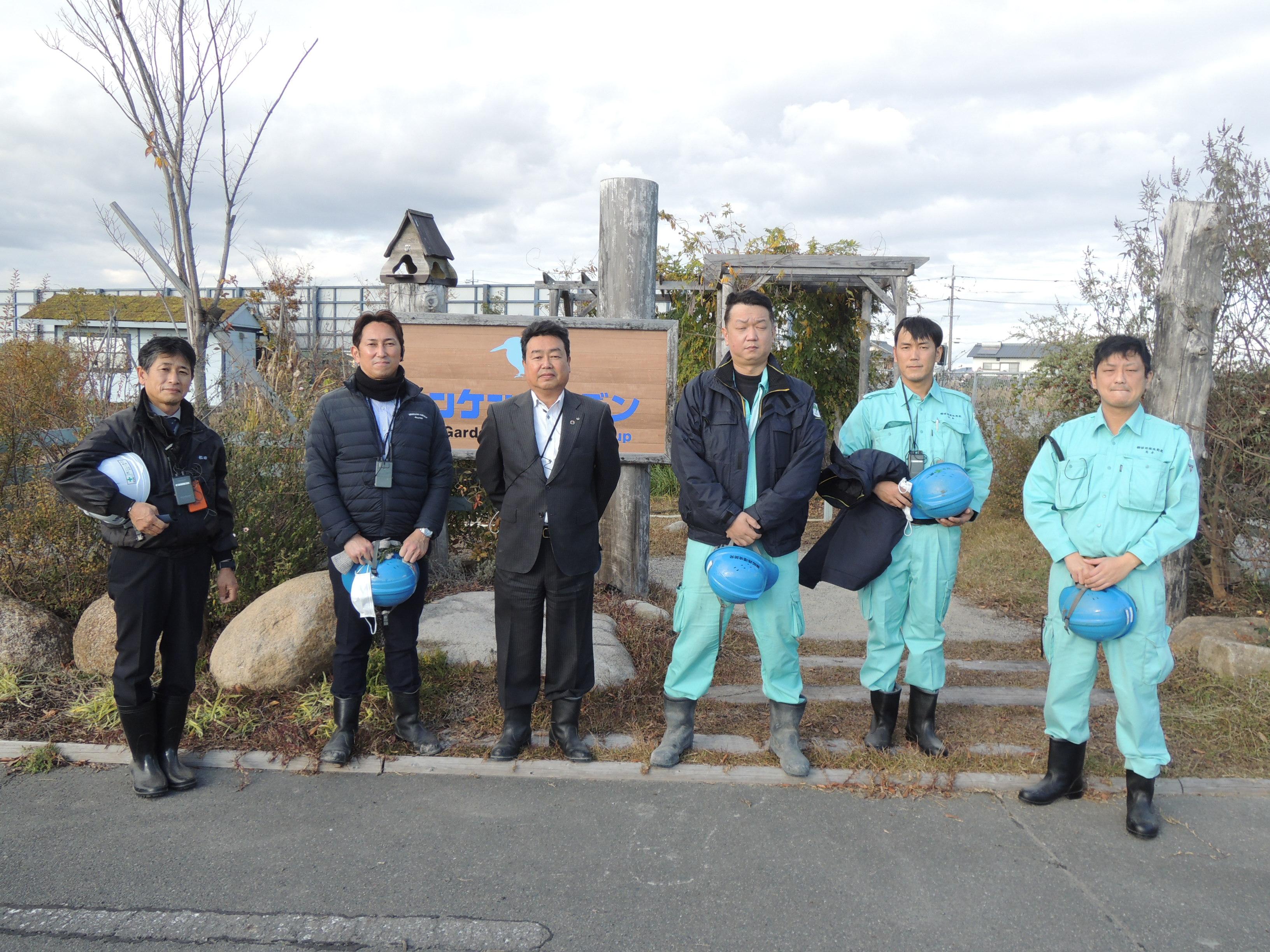姫路環境開発様 リサイクルセンターご見学